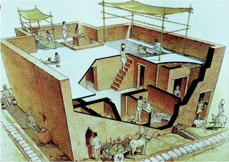 Реконструкция жилого дома. Лотхал, Индия