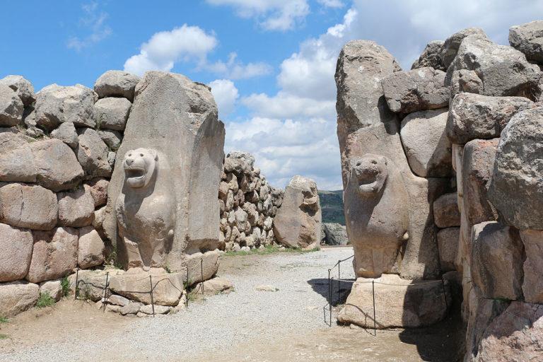 Львиные врата. XIV в. до н.э.