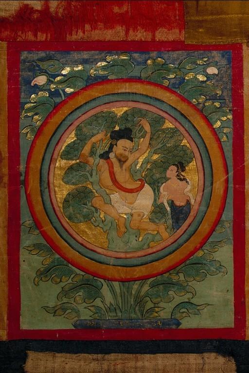 Махасиддха Тхаганапа. Тибет