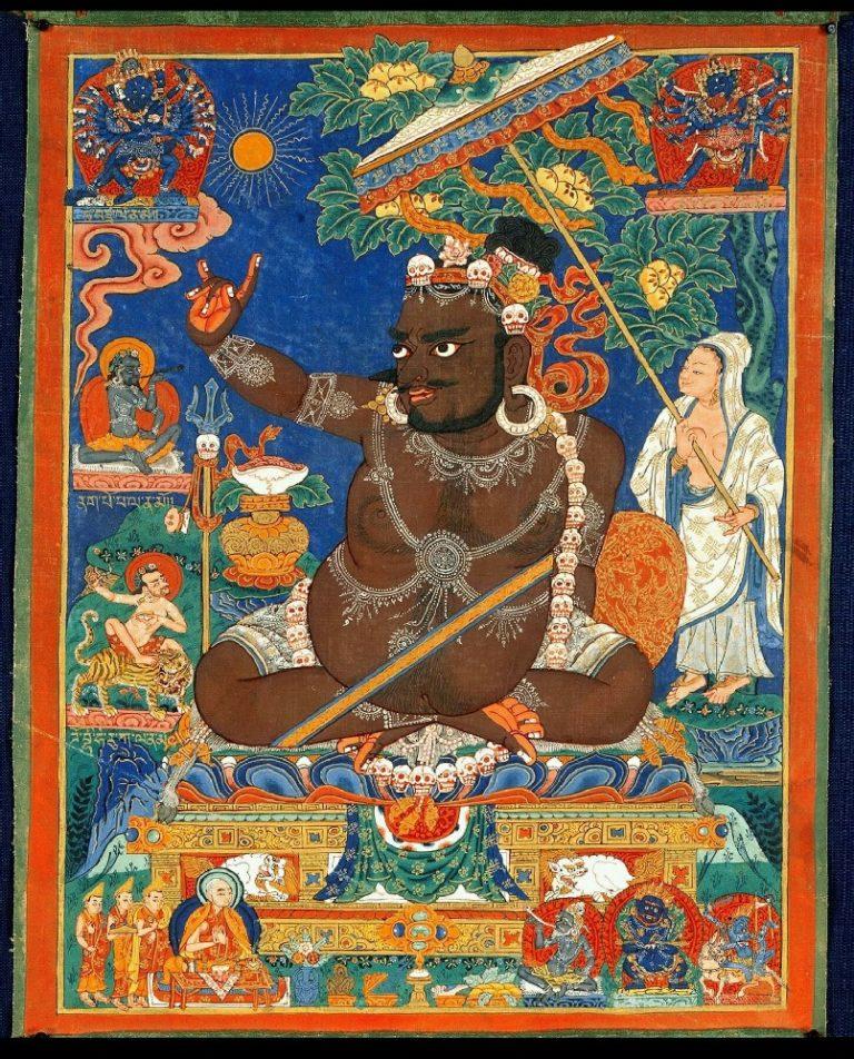 Махасиддха Вирупа. Индия, XVI в.