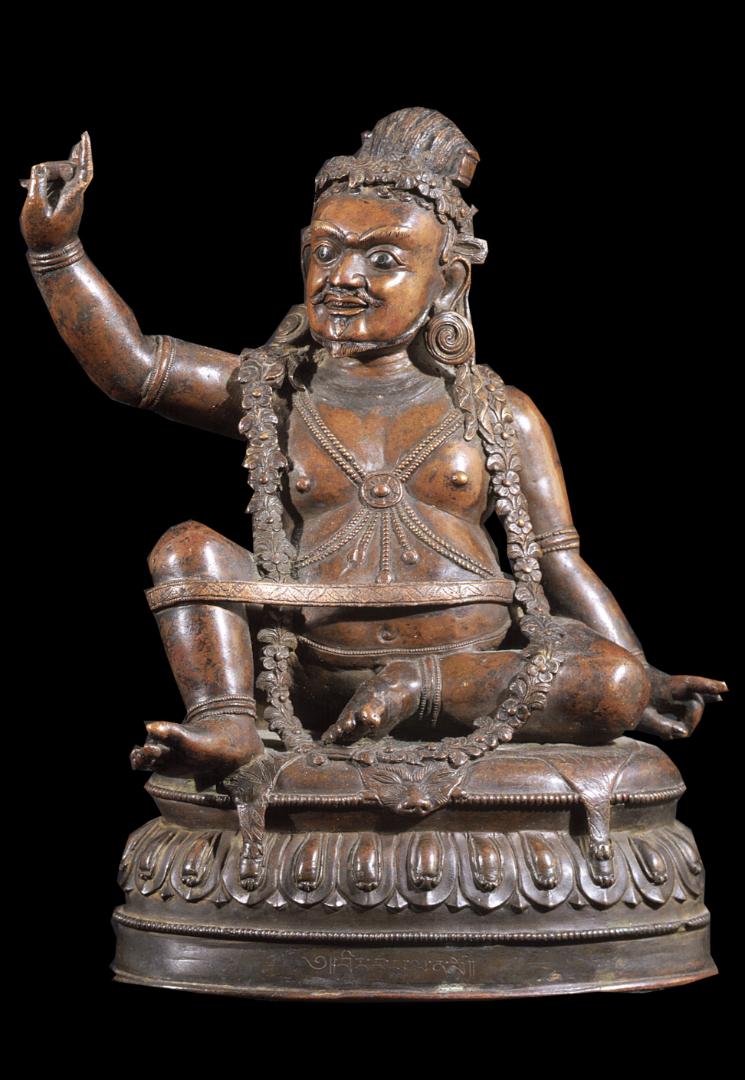 Махасиддха Вирупа. Тибет, XVII в.