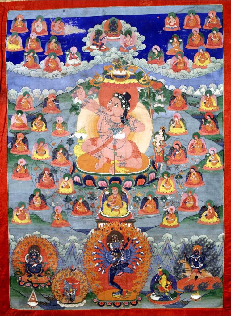 Махасиддха Вирупа. Тибет, XX в.