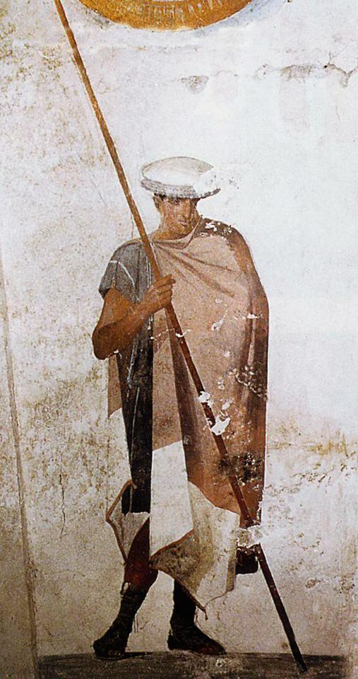 Македонский воин с копьем. IV в. до н.э.