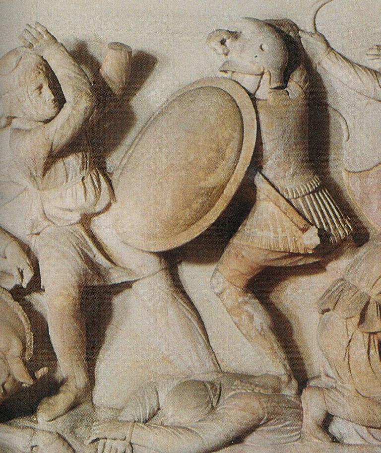 Македонский воин. IV в. до н.э.