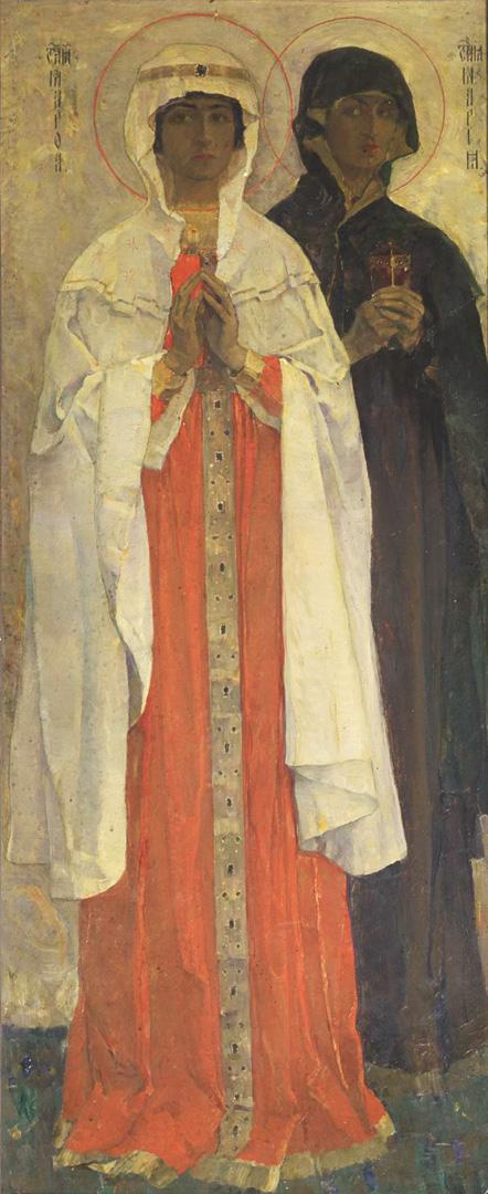 Марфа и Мария. 1910-е