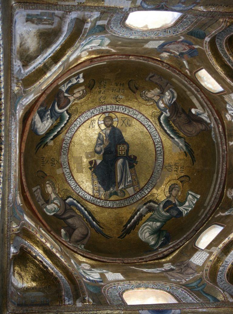 Марторана (итал. La Martorana) или Санта-Мария-дель-Аммиральо. XII в.
