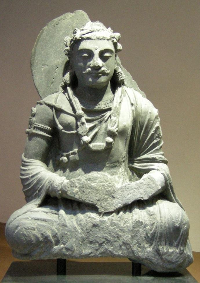 Медитирующий Бодхисаттва. II в н.э.