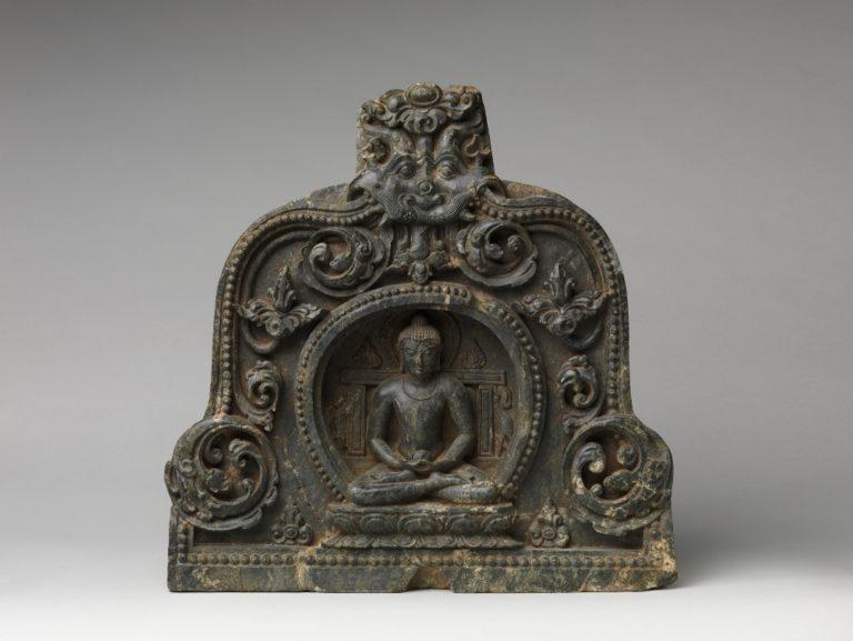 Медитирующий Будда с чашей милостыни. X–XI вв. Бихар