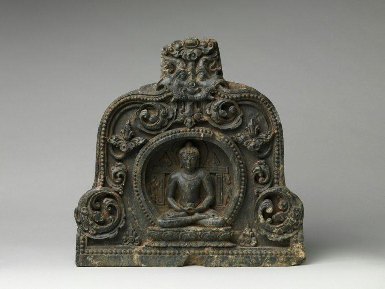 Медитирующий Будда с чашей милостыни. X-XI вв. Индия
