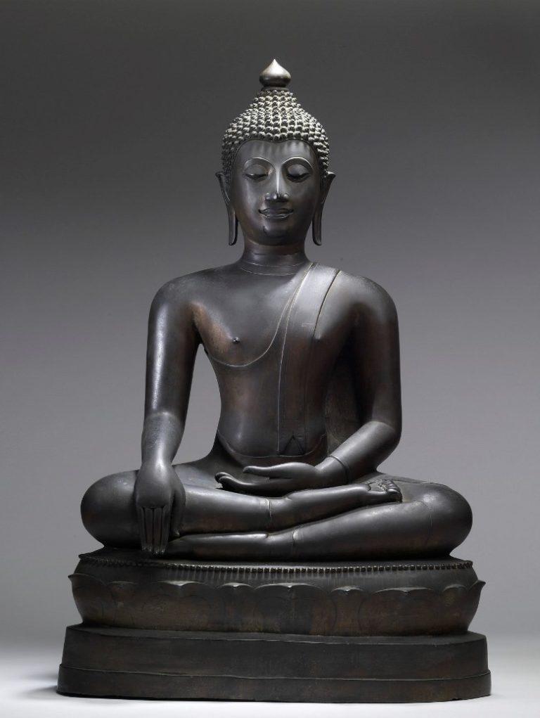 Медитирующий Будда. Тайланд, XV в.