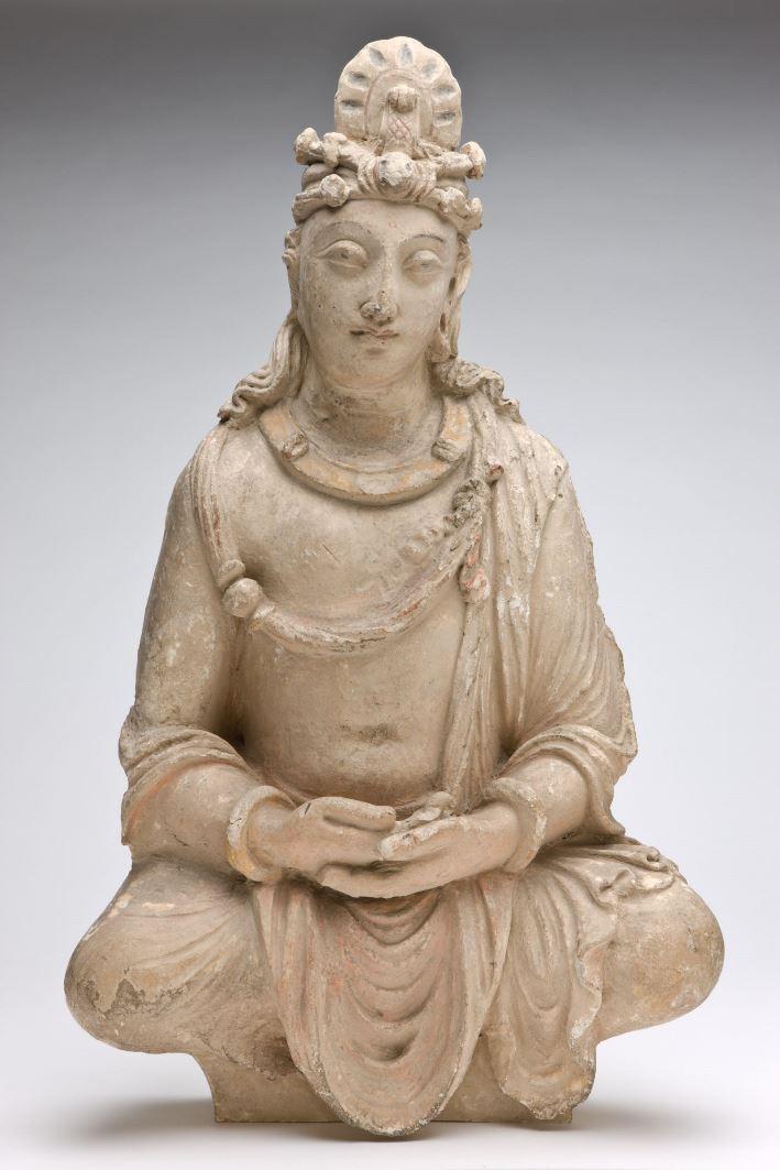 Медитирующий бодхисаттва. II–III вв.