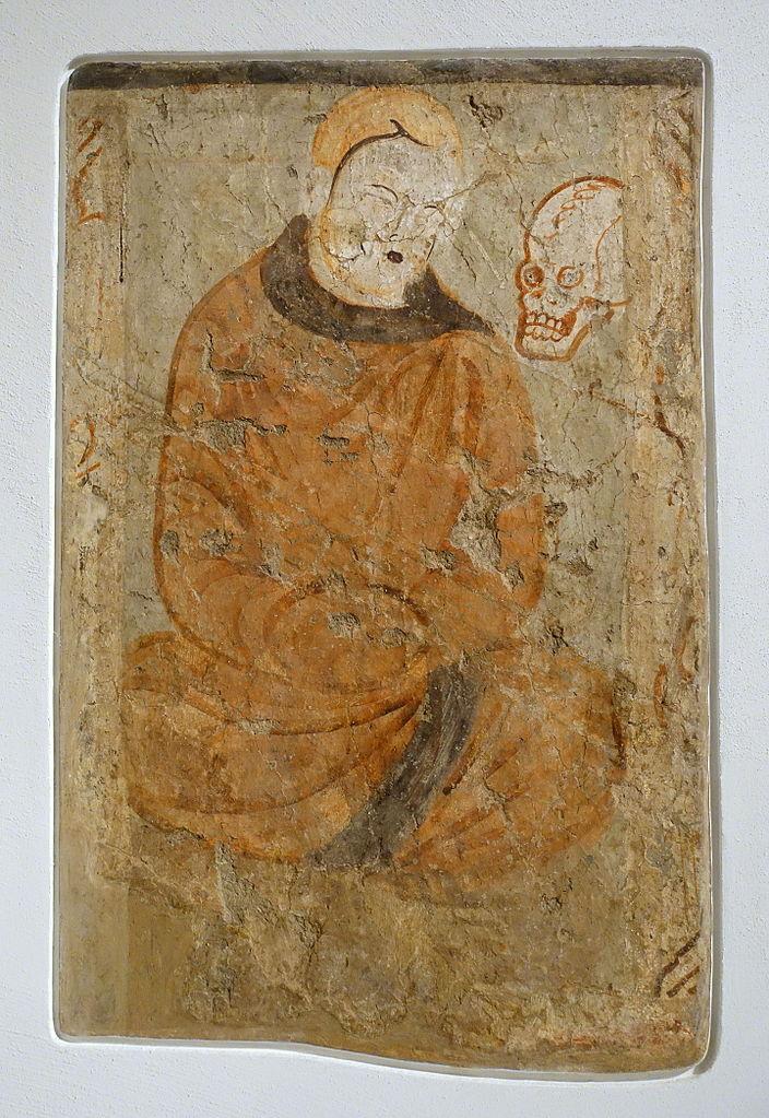 Медитирующий монах. IV–V вв.