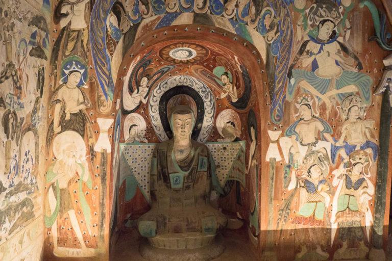 Медитирующий монах. VI в.