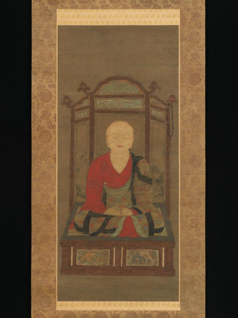 Медитирующий монах. Япония, XV в.
