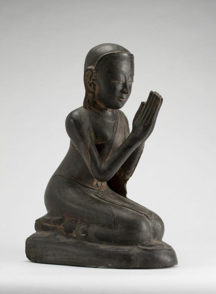 Монах в благоговейной позе. Бирма, 1600–1800