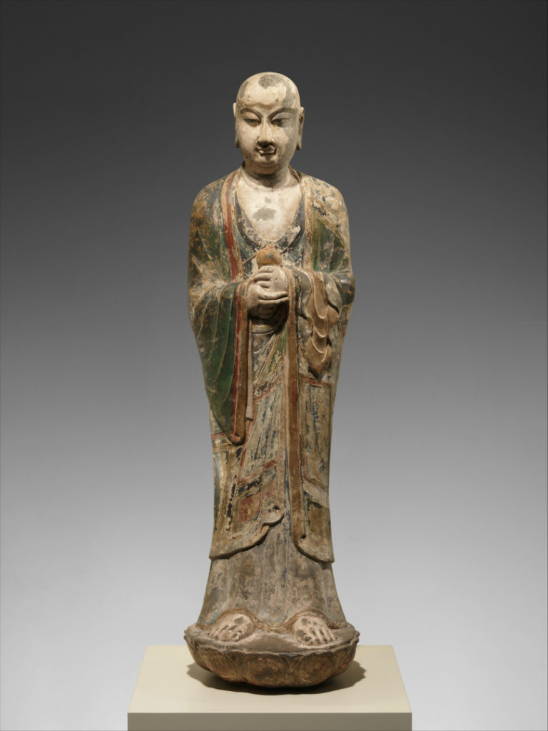 Монах (возможно, Ананда). VIII в.