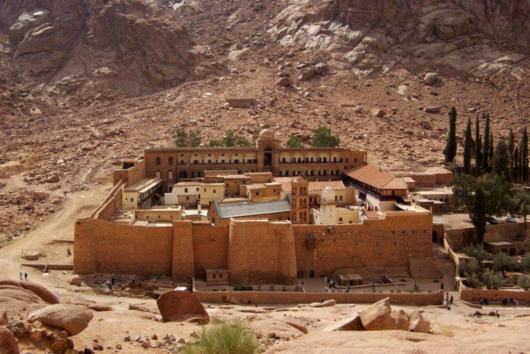 Монастырь св. Екатерины на Синае, Египет