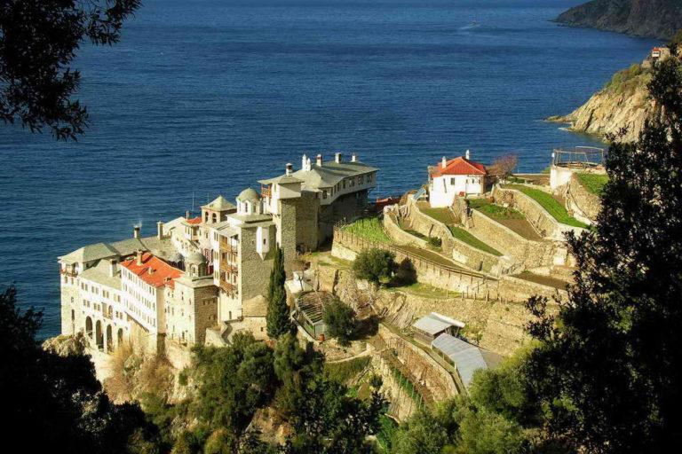 Монастырь св. Петра на горе Афон