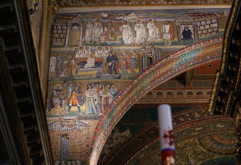 Мозаики Санта Мария Маджоре. V в. Рим