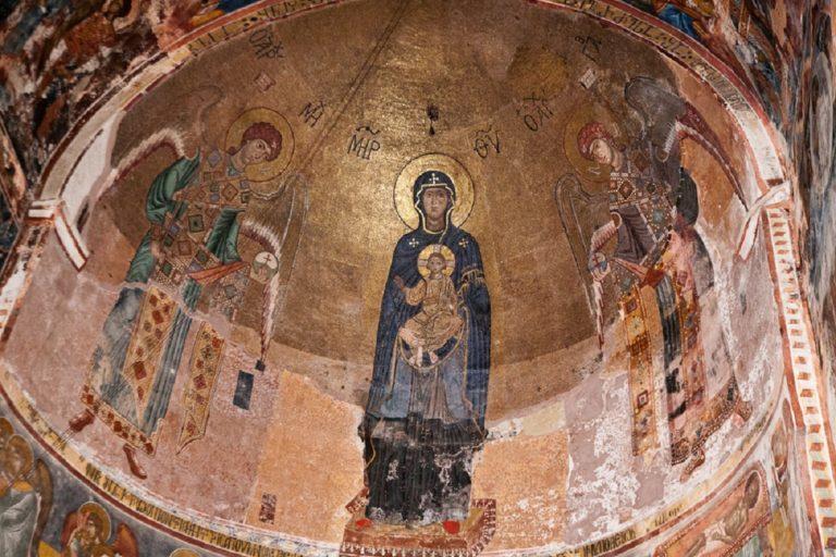 Мозаики соборной церкви Гелатского монастыря Богородицы. 1125-1130 гг.