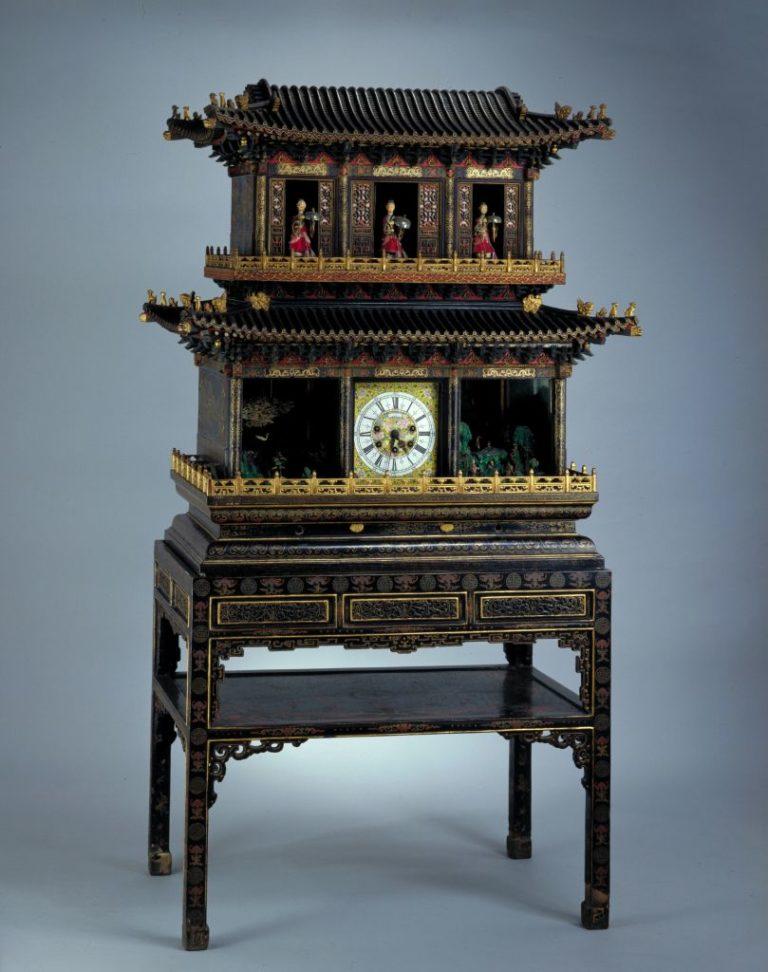 Музыкальные часы. Китай, XVIII в.