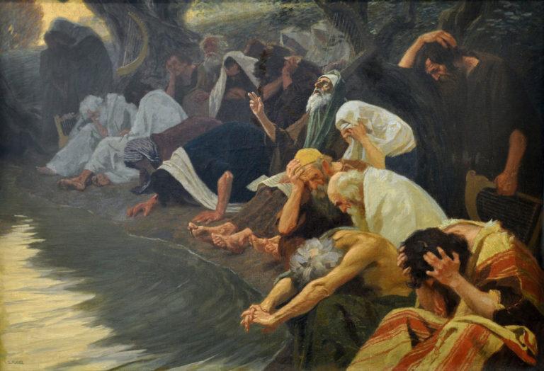 На реках Вавилонских. Ок. 1920