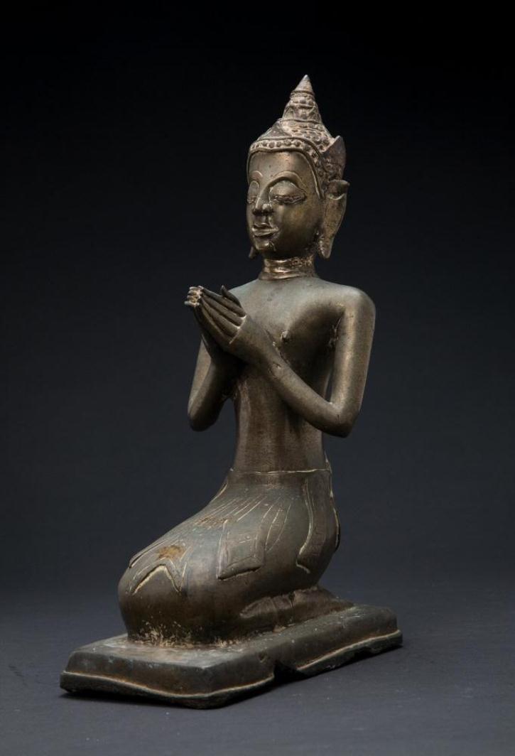 Небесное существо в благоговении. Тайланд, XV–XVII вв.