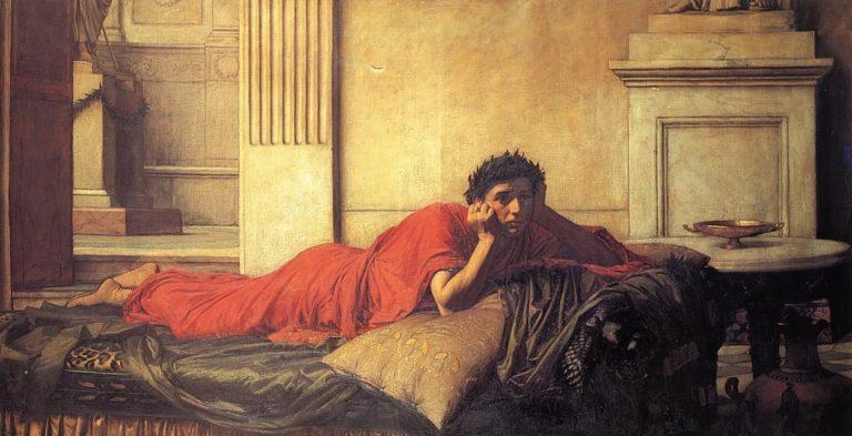 Нерон мучается от угрызений совести после убийства матери. 1878