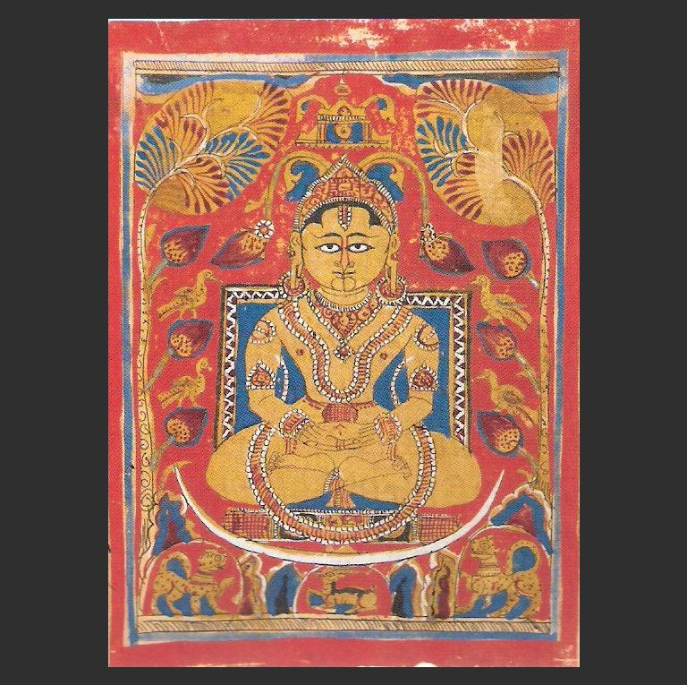 Нирвана Махавиры или Мокша. Ок. 1472