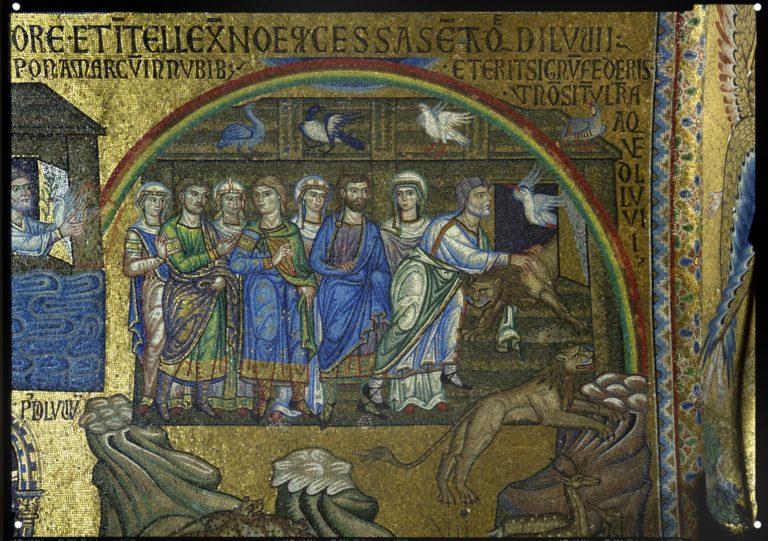 Ноев ковчег. XII в.