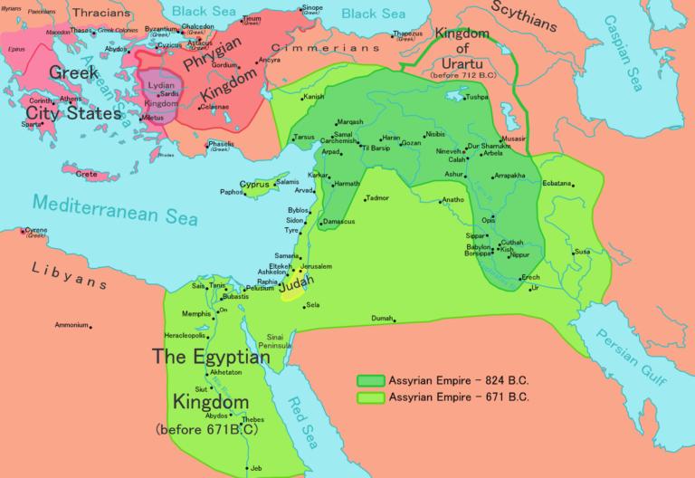 Новоассирийская держава. 750—620 гг. до н.э.
