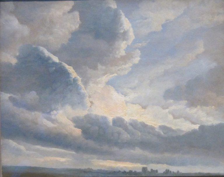 Облака и закат около Рима. 1786–1801