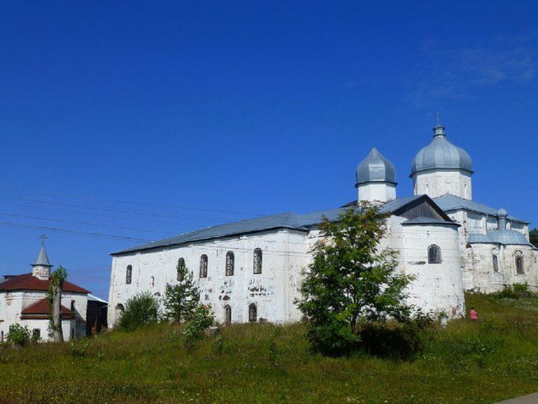 Онежский (Кийский) Крестный монастырь. Основан в 1556 г.