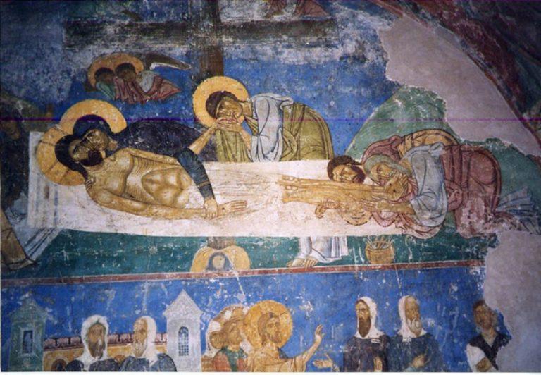 Оплакивание Христа. XII в.