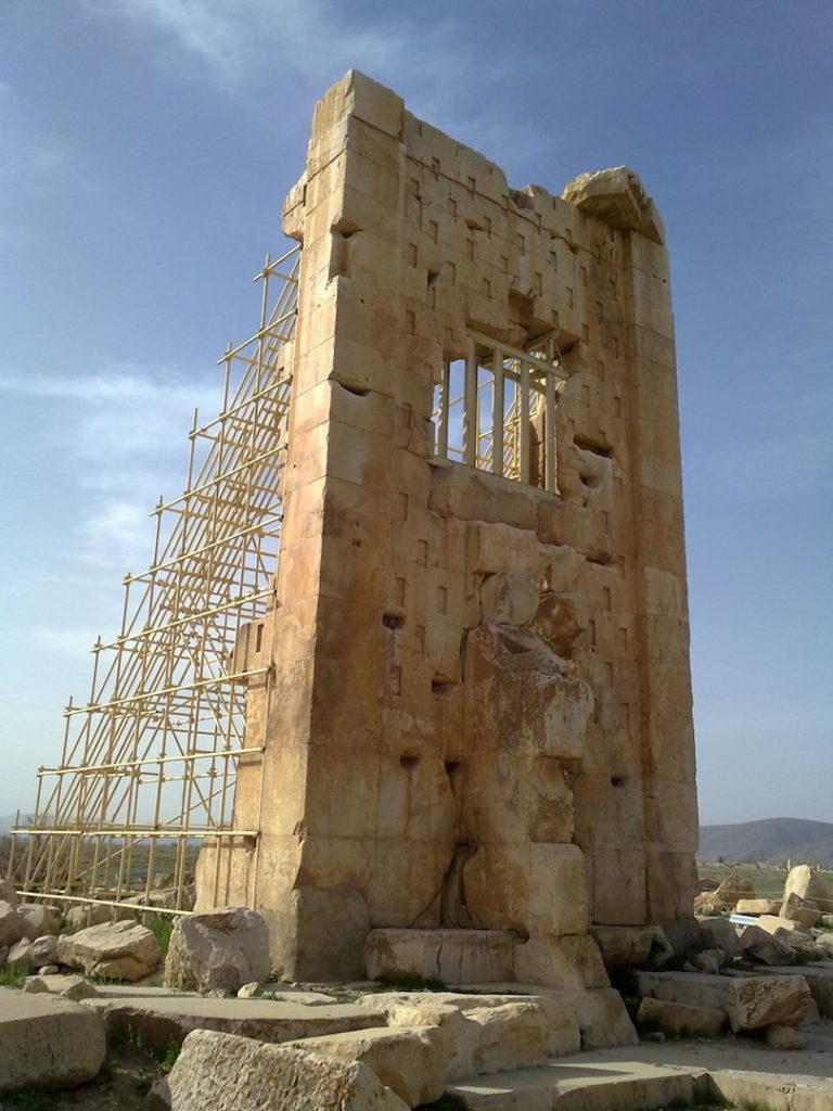 Остатки погребального комплекса Камбиза I (600—559 г. до н.э.)