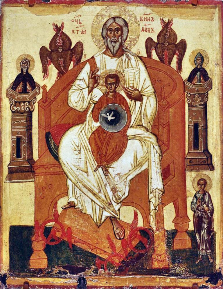 Отечество с избранными святыми. XIV в.