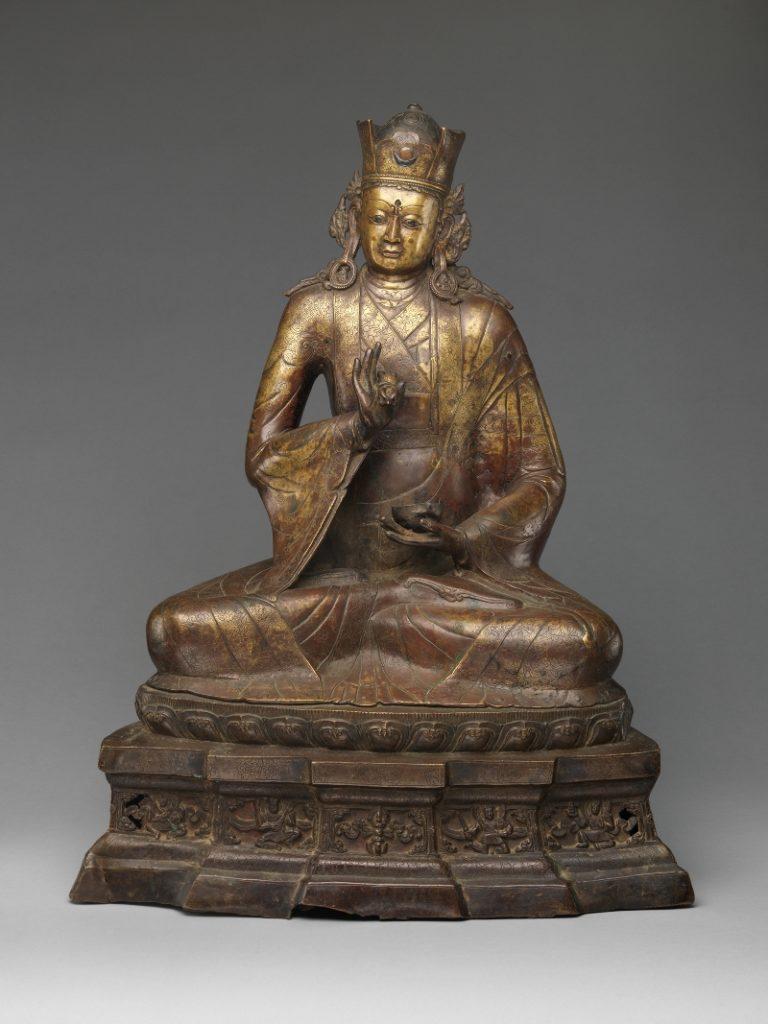 Падмасабхава – индийский учитель буддийской тантры. Тибет, XIV в.