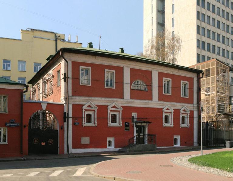Палаты Симона Ушакова в Москве на Китай-городе