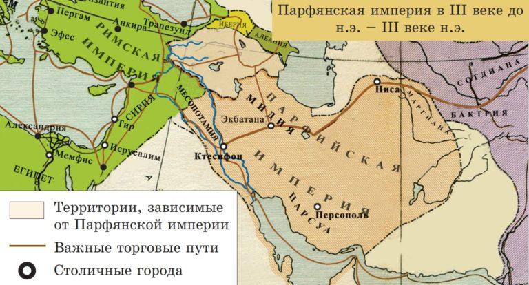 Парфянская империя в III в. до н.э. – III в. н.э.