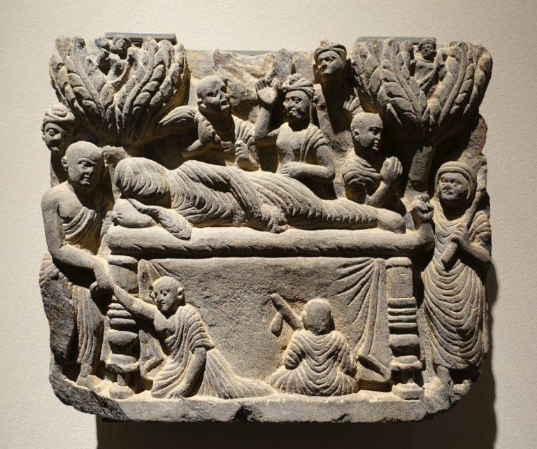 Паринирвана Будды. III в.