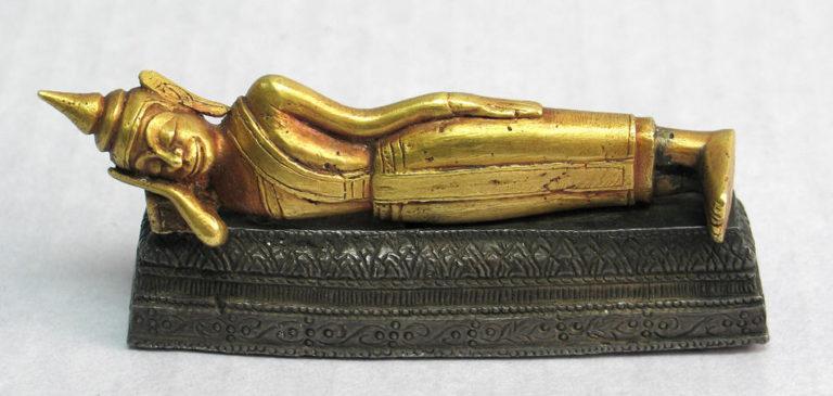 Паринирвана Будды. XVIII в.