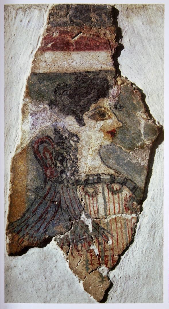 «Парижанка» (Жрица божества). XV в. до н.э.