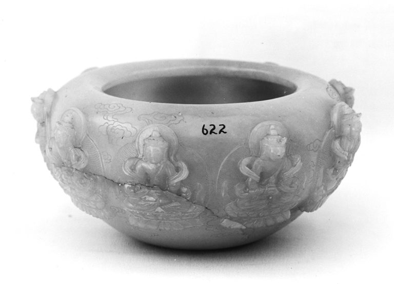 Патра (чаша для подаяний) буддийского монаха. 1736–1795 гг. Китай