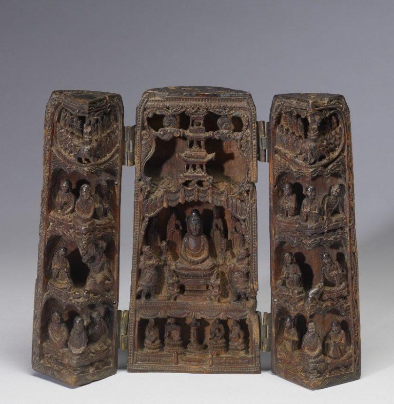 Переносной буддийский храм. Китай, X–XII вв.