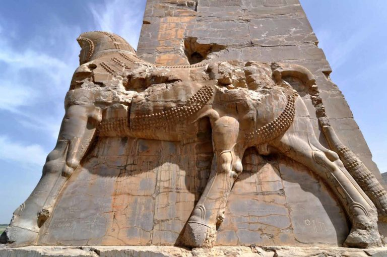 Персидский барельеф