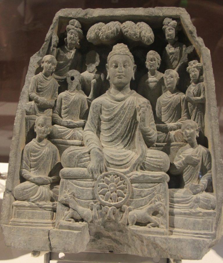 Первая проповедь Будды в Сарнтахе. II в.
