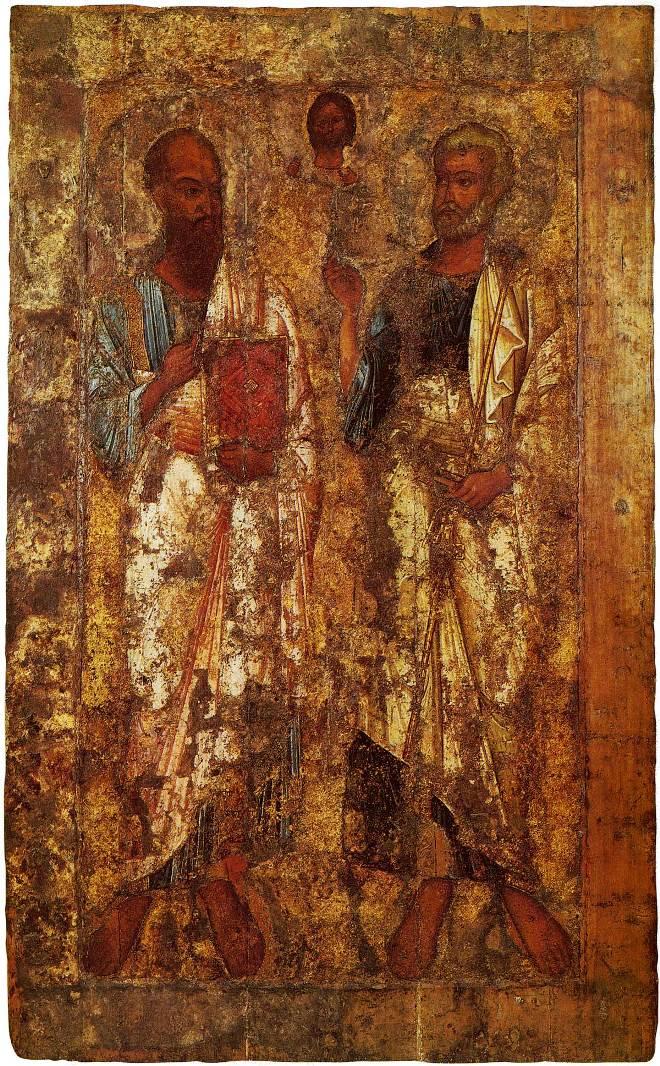 Петр и Павел. Середина XI в.