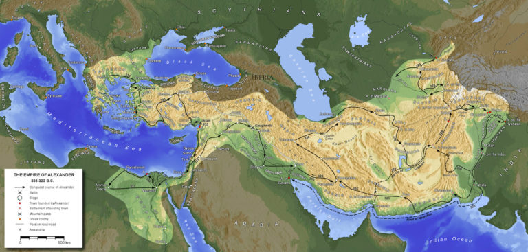 Поход Александра Македонского в Азию в 336—323 гг. до н.э.