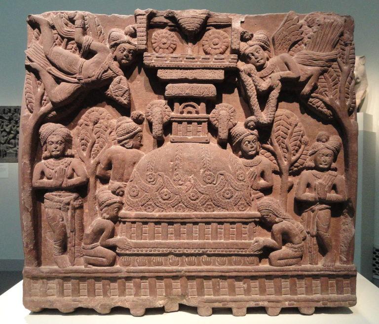Поклонение ступе. Индия, II в. до н.э.