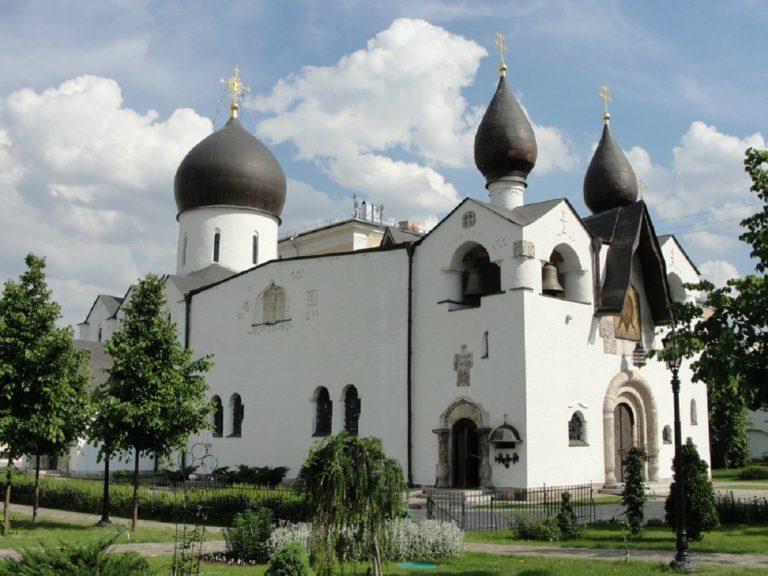 Покровский храм Марфо-Мариинской обители. 1912